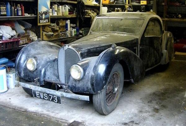 Abandoned Bugatti Type 57S