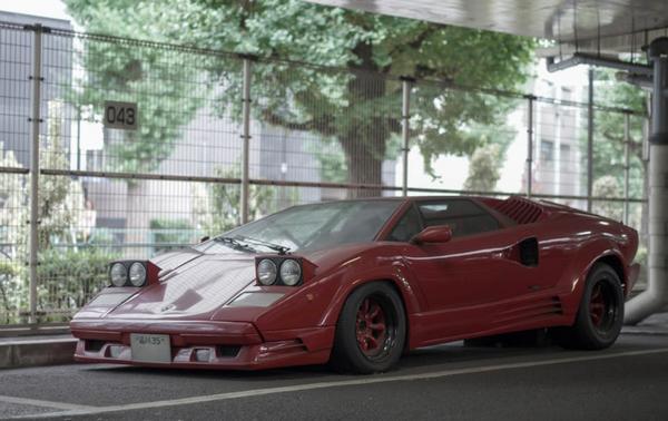 abandoned Lamborghini Countach