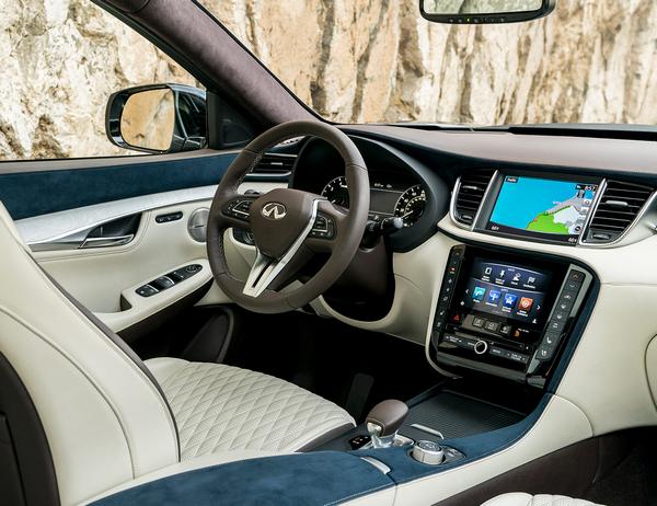 Infinity car interior