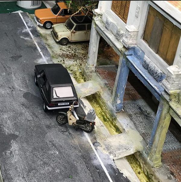 Eddie Putera's Miniature car and miniature motorbike