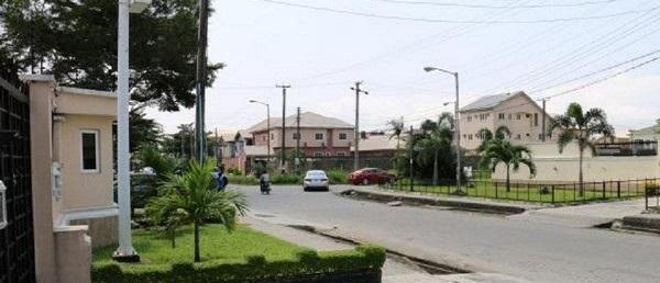 a street in Lekki Phase 1