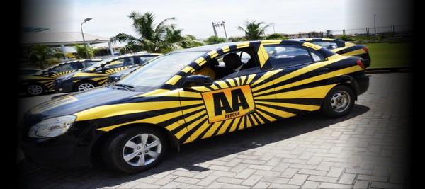 an AA Rescue car