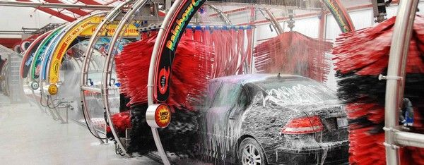 car and automatic car wash chain