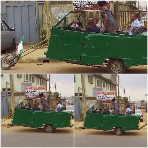 The Nigerian-made 3-wheeled car