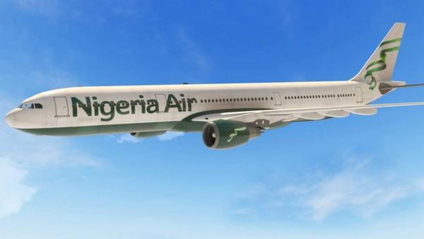 a Nigeria Air plane