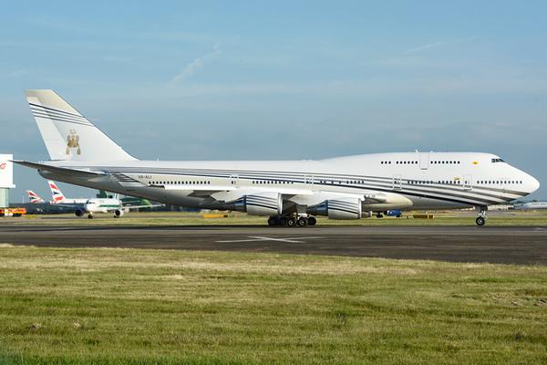Boeing 747-430- $233m (~N90b)- owned by Sultan of Brunei