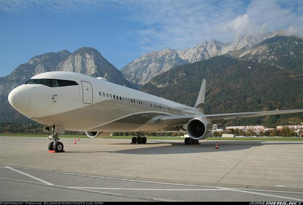 Boeing 767-33A $120-170m (N46b-N66b)- owned by Roman Abramovich