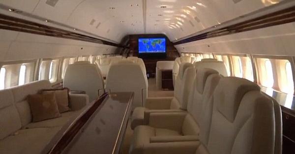 Inside Trump's private Jet