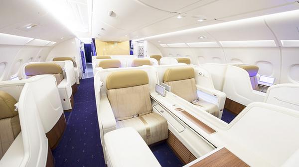 Interior of the Airbus A380-Interior