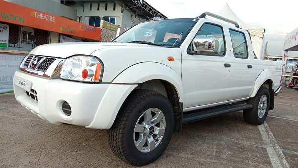 a Nissan at Lagos International Trade Fair