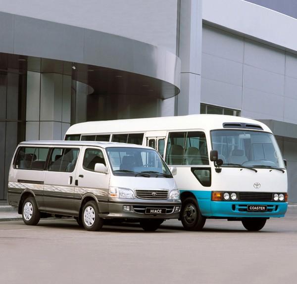 Toyota HiAce and Toyota Coaster