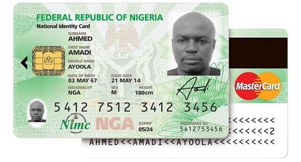Nigerian ID card