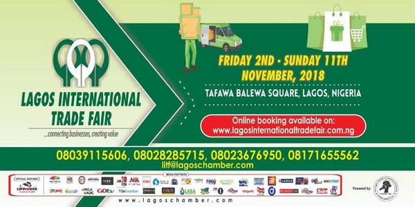 2018 Lagos international trade fair banner