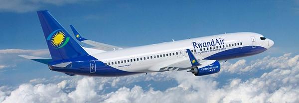 Rwandair in the air