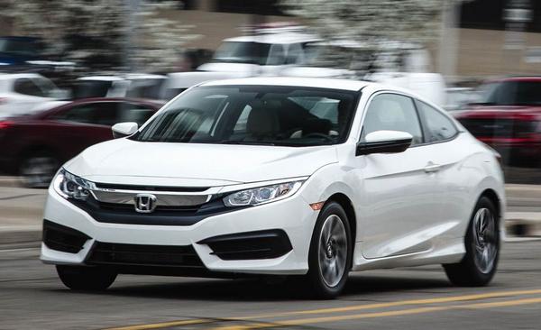 a-running-Honda-Civic-coupe