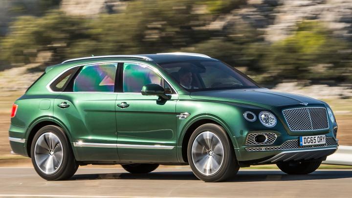 a luxury Bentley Bentayga