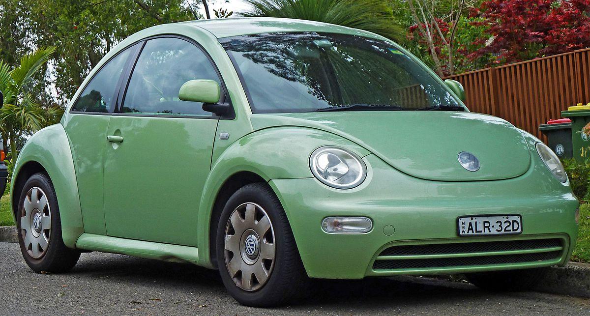 a Volkswagen Beetle