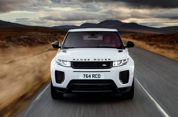 Front of the Land Rover Range Rover 2019