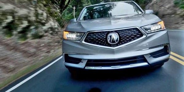 Acura-MDX-2018-front