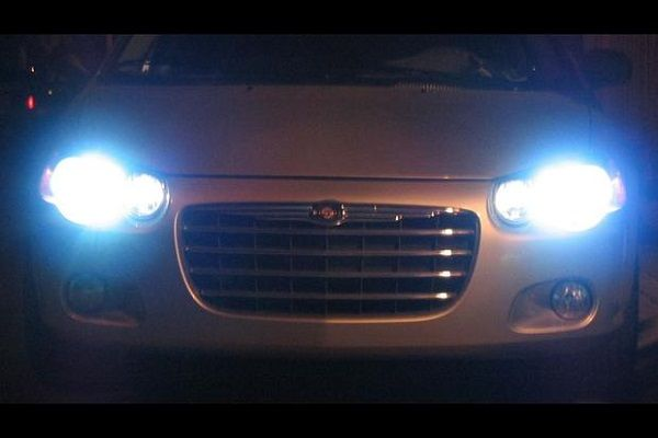 image-showing-a-car's-headlight-left-on-at-night
