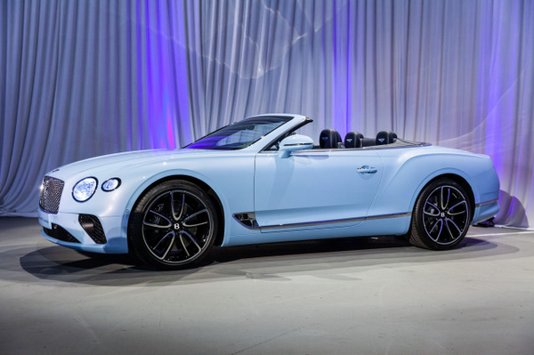 2019 Bentley Continental GT Convertible at the 2018 LA motor show