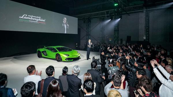 The debut of the Lamborghini Aventador SVJ in Asia Pacific