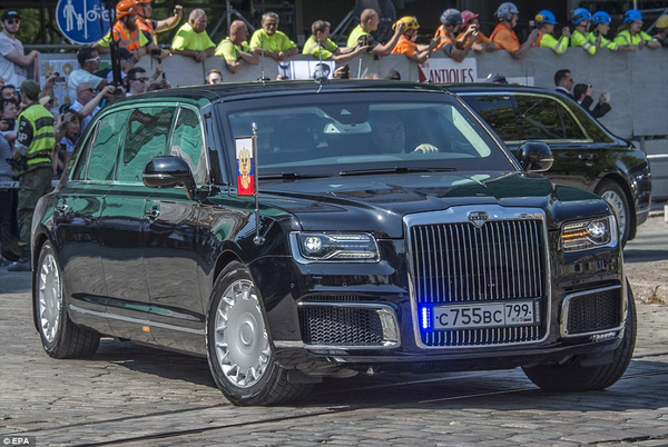 Aurus Senat Kortezh limo that Putin drives