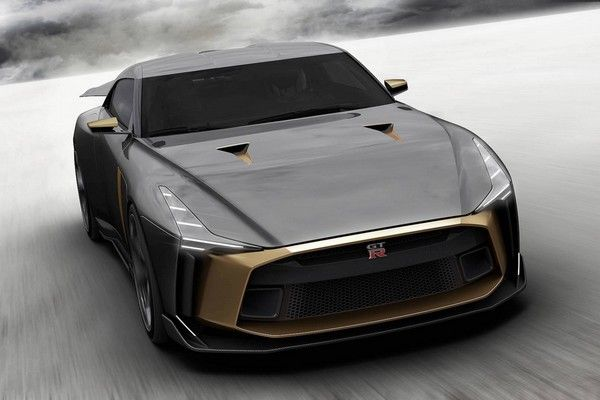 the-angular-front-of-the-GT-R50-Nissan-car