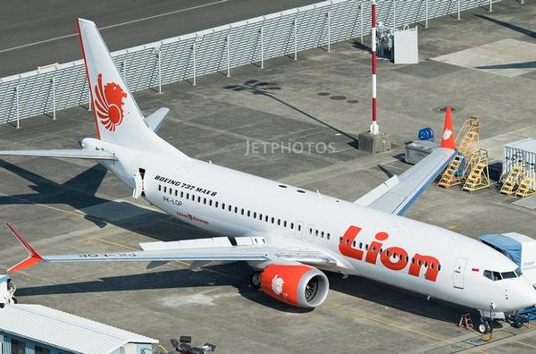 The Lion Air Flight JT-610