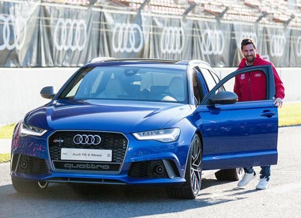 Messi's-Audi-R8-Spyder
