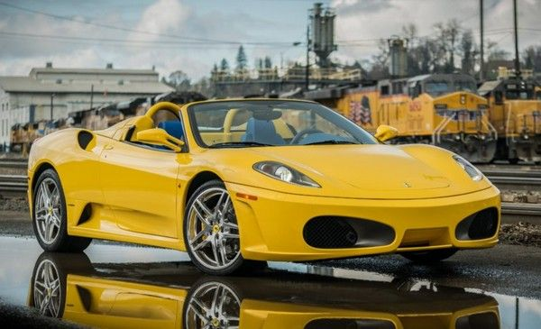 Ferrari-F430-Spider-yellow