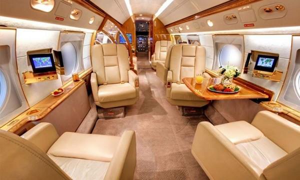 Messi-private-jet-interior
