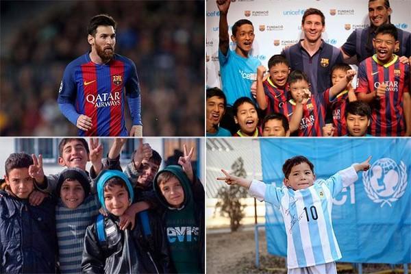 Messi-philanthropy
