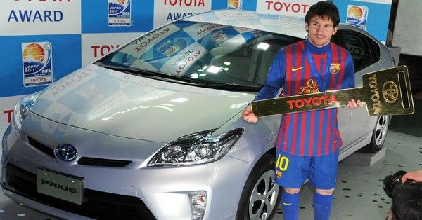 Messi-and-Toyota-Prius