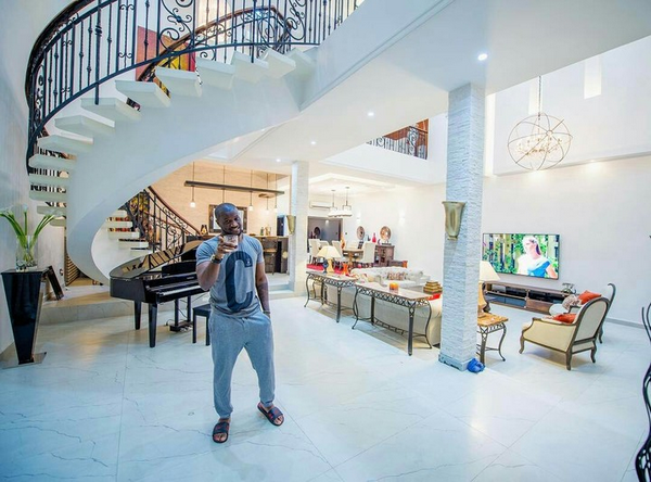 This is how P-Square's mansion looks inside