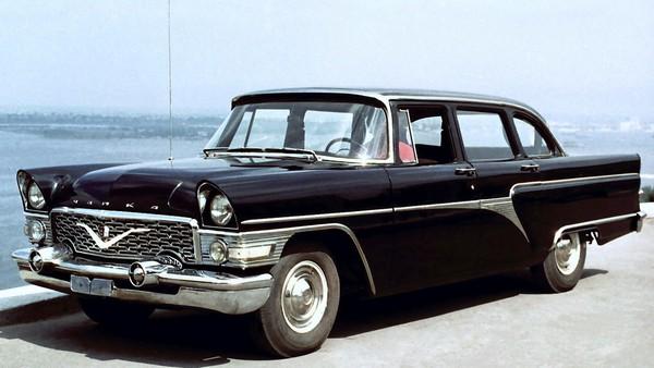 Soviet-Chaika-car