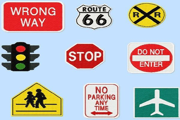 Assorted-road-signs
