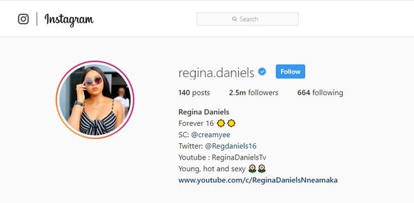 Regina-Daniels-Instagram-account