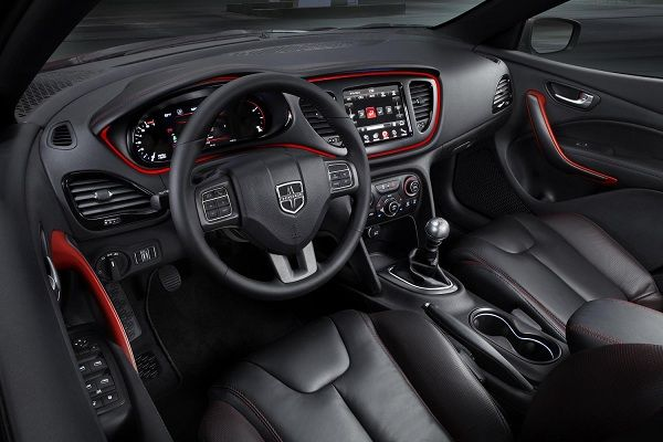Interior-of-a-manual-car
