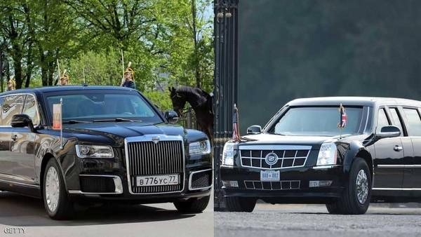 Putin-car-vs-Trump-car