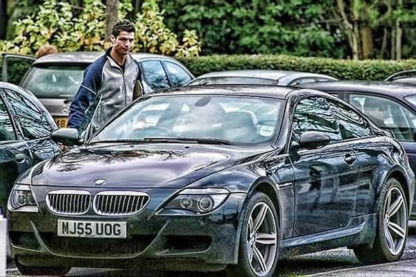 Ronaldo-and-BMW-M6