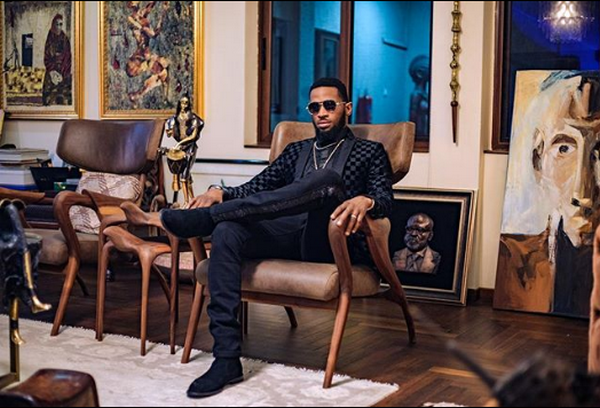 D'banj-sitting-in-a-chair