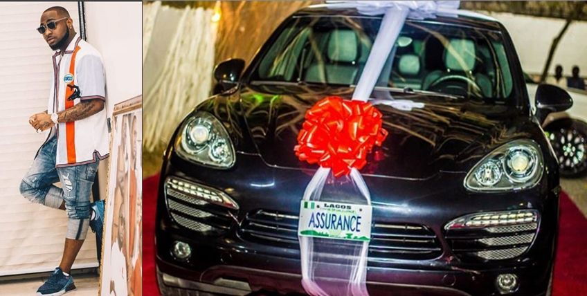 Davido-and-the-car-as-a-gift-to-his-girlfriend