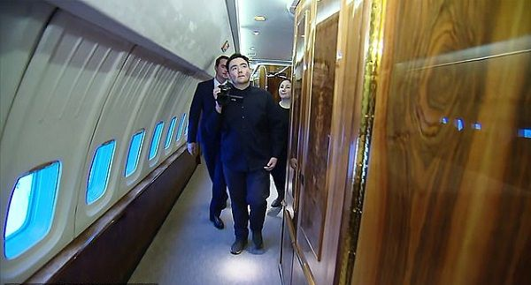 a-teenager-filming-inside-Russian-presidential-jet
