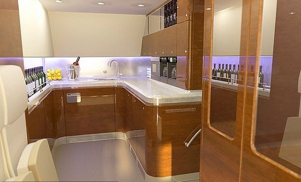 a-drinking-bar-on-board-in-Putin-private-jet