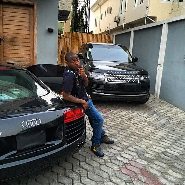 Davido house and car is second-to-none among Nigerian