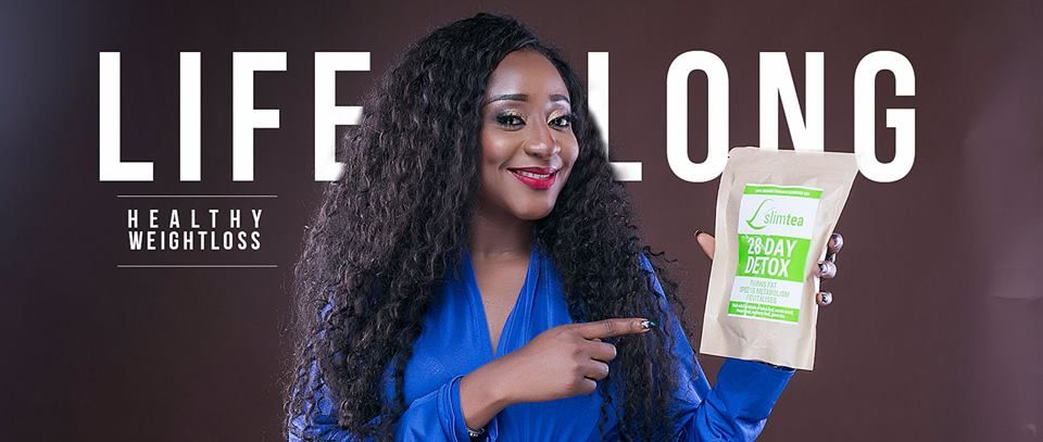 Ini-Edo-and-a-bad-of-slim-tea