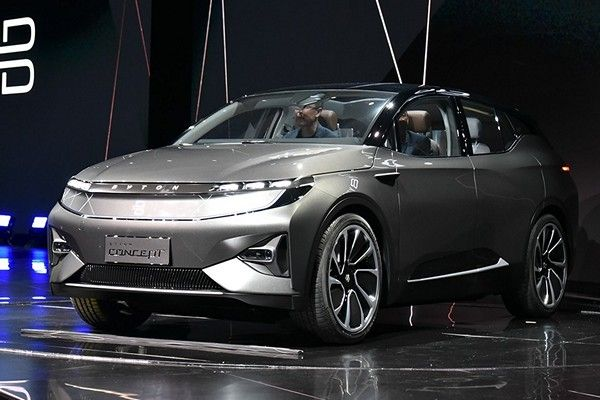Byton's-all-electric-M-byte-SUV-angular-front
