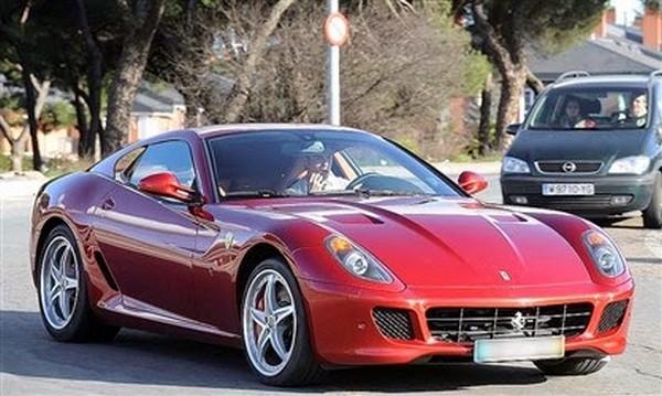 Ronaldo's-Ferrari