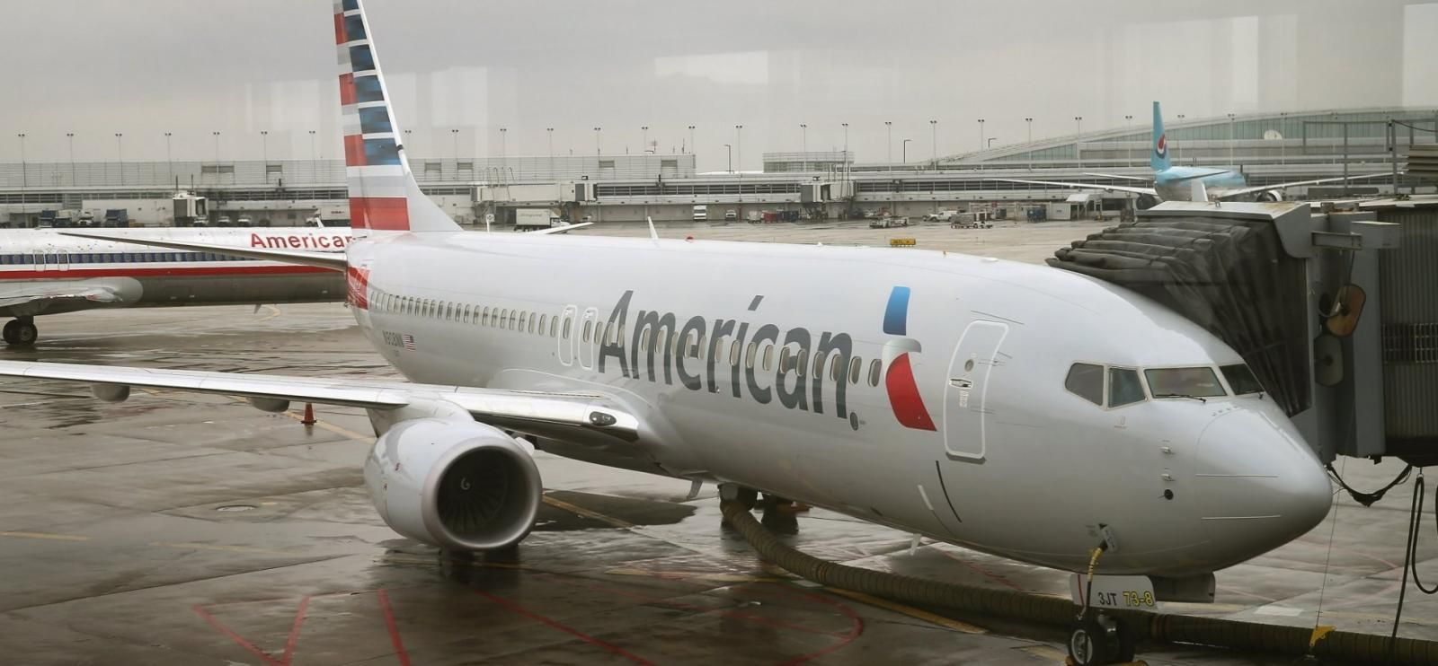 an-airplane-of-american-airlines